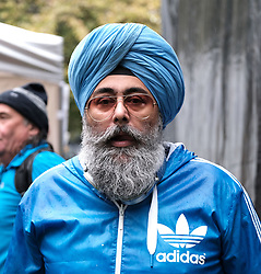 All Under One Banner March, Edinburgh, 5 October 2019<br /> <br /> Pictured: Hardee's Singh Kohli<br /> <br /> Alex Todd | Edinburgh Elite media
