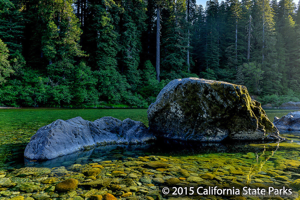 090-P89531<br /> <br /> Jedediah Smith Redwoods State Park<br /> ©2015, California State Parks<br /> Photo by Brian Baer