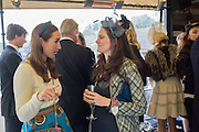 ALEXANDRA EDWARDS; ELIZABETH DEEMING;, Sam Sangster, Carlo Carello and Christian Hamilton host a preview of Aspall's 1728 Fine Sparkling Cyder. Ladies Day, Epsom Downs.  A pop-up bar in No 1 car-park and lunch in a Box in the grandstand. . 3 June 2016