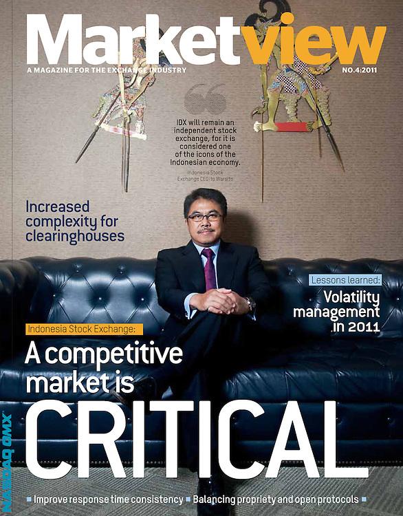 Mr. Ito Warsito, CEO Indonesian Stock Exchange for Nasdaq OMX, 2011.