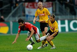 09-05-2007 VOETBAL: PLAY OFF: UTRECHT - RODA: UTRECHT<br /> In de play-off-confrontatie tussen FC Utrecht en Roda JC om een plek in de UEFA Cup is nog niets beslist. De eerste wedstrijd tussen beide in Utrecht eindigde in 0-0 / Jamaique Vandamme en Peter Kopteff<br /> ©2007-WWW.FOTOHOOGENDOORN.NL