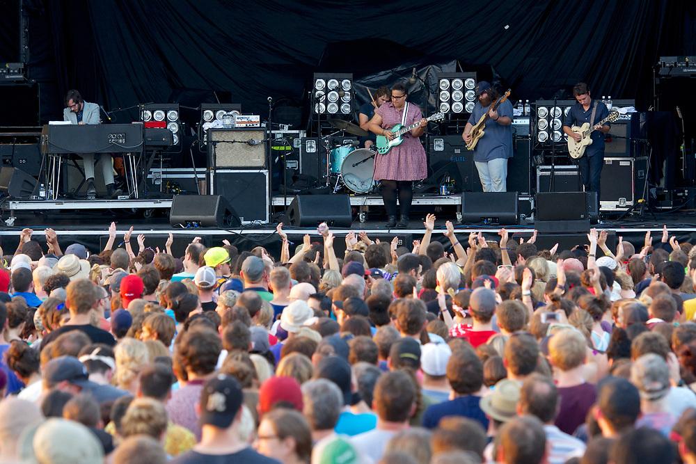 LouFest in St. Louis on September 8, 2013.