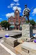 McConnelsville, Ohio city scenes.