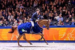 Gill Alex David, GBR, Inaico VDL<br /> KWPN hengstenkeuring - 's Hertogenbosch 2020<br /> © Hippo Foto - Dirk Caremans<br /> 30/01/2020