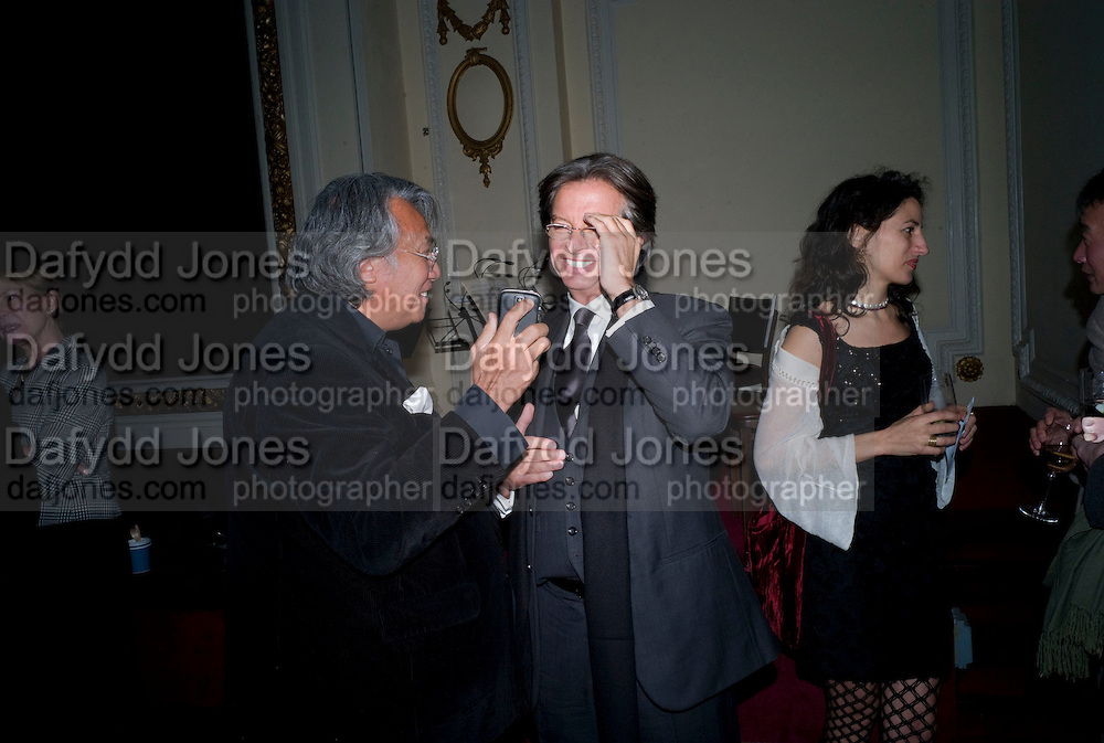 DAVID TANG; RICHARD CARING; JASMINE DELLAL, David Tang and Nick Broomfield host  a reception and screening of Ghosts. On the Fifth anniversary of the Morecambe Bay Tragedy to  benefit the Morecambe Bay Children's Fund. The Electric Cinema. Portobello Rd. London W11. 5 February 2009 *** Local Caption *** -DO NOT ARCHIVE -Copyright Photograph by Dafydd Jones. 248 Clapham Rd. London SW9 0PZ. Tel 0207 820 0771. www.dafjones.com<br /> DAVID TANG; RICHARD CARING; JASMINE DELLAL, David Tang and Nick Broomfield host  a reception and screening of Ghosts. On the Fifth anniversary of the Morecambe Bay Tragedy to  benefit the Morecambe Bay Children's Fund. The Electric Cinema. Portobello Rd. London W11. 5 February 2009
