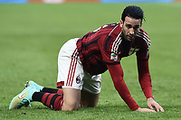 Adil Rami Milan   <br /> Milano 06-01-2015 Stadio Giuseppe Meazza Football Calcio Serie A 2014/2015 Milan - Sassuolo foto Image Sport/Insidefoto