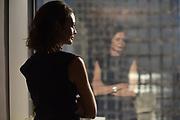 MANHATTAN, NEW YORK,  NOVEMBER 8, 2018 American Express Managing Director of of Australia, Corinna Davison is seen at the American Express tower headquarters in Manhattan, NY. 11/8/2018