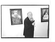 Michael de Stempel, at Sophie de Stempel opening. Rebecca Hossack gallery, Windmill St. London 9th October 1997 © Copyright Photograph by Dafydd Jones 66 Stockwell Park Rd. London SW9 0DA Tel 020 7733 0108 www.dafjones.com
