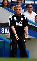 Photo: Richard Lane/Sportsbeat Images. <br />Chelsea v Birmingham. Barclay's Premiership. 12/08/2007. <br />Birmingham's manager, Steve Bruce.