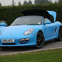 2010 Porsche Boxster, SMMT Driving Day Bath Racecourse