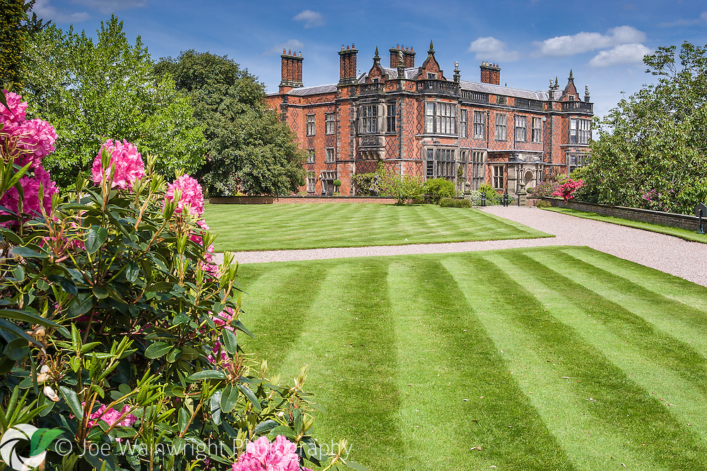 Arley Hall, Cheshire, was built between 1832 and 1845.  It is the family home of Lord and Lady Ashbrook. .  This image is available for sale for editorial purposes, please contact me for more information.