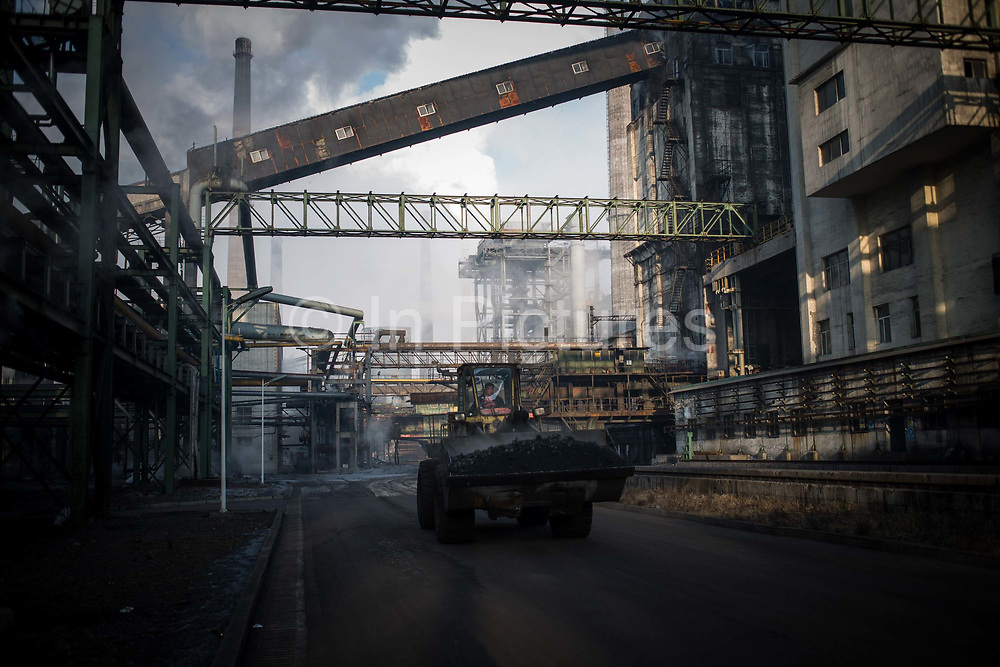 Operations inside the Tonghua Iron and Steel Mill in Tonghua, Jilin province, China, on Thursday, Jan. 7, 2016. The citys once-vaunted state-run steel mills have slipped inexorably into decline, weighed down by slumping global markets, a changing economy, and the burden of costs and responsibilities to the people of the town they fostered. Previous attempts to privatise the enterprise have met with stiff resistance, one such attempt resulted the mob lynching and death of a private businessman who wanted to invest and streamline the operation.