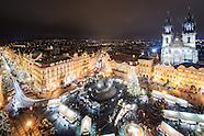 Brilliance over Prague. Czech Republic