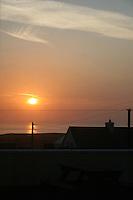 Sunrise on Inis Mor Aran Islands County Galway Ireland