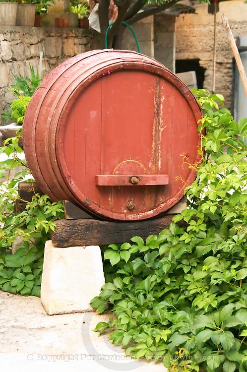 Toreta Vinarija Winery in Smokvica village on Korcula island. Vinarija Toreta Winery, Smokvica town. Peljesac peninsula. Dalmatian Coast, Croatia, Europe.