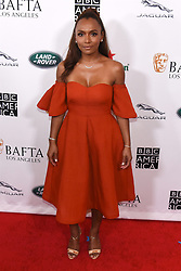 September 15, 2018 - Beverly Hills, California, USA - JANET MOCK attends the 2018 BAFTA Los Angeles + BBC America TV Tea Party at the Beverly Hilton in Beverly Hills. (Credit Image: © Billy Bennight/ZUMA Wire)