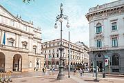 Milan, Italy, Teatro della Scala
