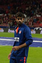 October 27, 2018 - Madrid, Madrid, Spain - Diego Costa..during the match between Atletico de Madrid vs Real Sociedad. Atletico de Madrid won by 2 to 0 over Real Sociedad whit goals of Godin and Filipe Luis. (Credit Image: © Jorge Gonzalez/Pacific Press via ZUMA Wire)