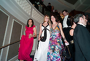 REBECCA MOULE; ASTRID ELSEN, The Royal Caledonian Ball 2010. Grosvenor House. Park Lane. London. 30 April 2010 *** Local Caption *** -DO NOT ARCHIVE-© Copyright Photograph by Dafydd Jones. 248 Clapham Rd. London SW9 0PZ. Tel 0207 820 0771. www.dafjones.com.<br /> REBECCA MOULE; ASTRID ELSEN, The Royal Caledonian Ball 2010. Grosvenor House. Park Lane. London. 30 April 2010