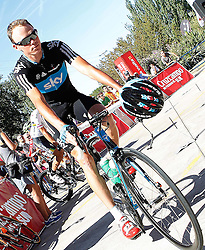 29.08.2011, Andalusien, ESP, LA VUELTA 2011, Stage 17, im Bild Christopher Froome during during the stage of La Vuelta 2011 between Faustino V and Pena Cabarga.September 7,2011. EXPA Pictures © 2011, PhotoCredit: EXPA/ Alterphoto/ Acero +++++ ATTENTION - OUT OF SPAIN/(ESP) +++++