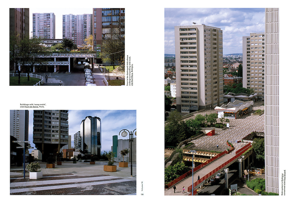 """Assignment. Two urban forms, """"slums"""" and """"slaps"""", exist close to each other in Bobigny. (France)"""