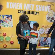 NLD/Muiden/20180325 - Boekpresentatie koken met Shane Kluivert,