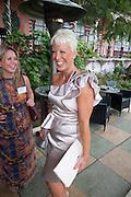 HEATHER JONES-HUGHES, Archant Summer party. Kensington Roof Gardens. London. 7 July 2010. -DO NOT ARCHIVE-© Copyright Photograph by Dafydd Jones. 248 Clapham Rd. London SW9 0PZ. Tel 0207 820 0771. www.dafjones.com.