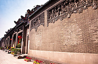 The front entrance area of the Chen Family temple