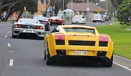 2005 Lamborghini Gallardo (Giallo Midas) .Corporate Drive Day with Octane Events & The Supercar Club.Mornington Pennisula, Victoria .6th-7th of August 2009 .(C) Joel Strickland Photographics