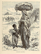 Eastern Gleaners From the book 'Those holy fields : Palestine, illustrated by pen and pencil' by Manning, Samuel, 1822-1881; Religious Tract Society (Great Britain) Published in 1873