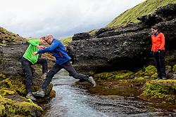 09-07-2014 ISL: Iceland Diabetes Challenge Dag 5, Emstrur<br /> Van Alftavatn naar Emstrur / Harold Pijfers-Bensing, Bas van de Goor