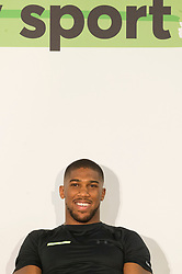 © Licensed to London News Pictures. 12/06/2019. London, UK. Former world heavyweight boxing champion Anthony Joshua  attends the launch of Made By Sport at Black Prince Trust. Made by Sport is borne out of the recognition that sport can play a fundamental role in developing skills that make a difference at school, at work and in life. Photo credit: Ray Tang/LNP