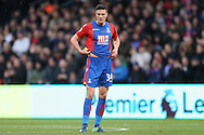 Martin Kelly of Crystal Palace looking on. Premier League match, Crystal Palace v Manchester city at Selhurst Park in London on Saturday 19th November 2016. pic by John Patrick Fletcher, Andrew Orchard sports photography.