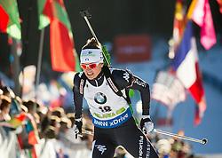 Karin Oberhofer (ITA)  during Women 12.5 km Mass Start at day 4 of IBU Biathlon World Cup 2015/16 Pokljuka, on December 20, 2015 in Rudno polje, Pokljuka, Slovenia. Photo by Vid Ponikvar / Sportida