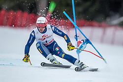 14.02.2020, Zwölferkogel, Saalbach Hinterglemm, AUT, FIS Weltcup Ski Alpin, Super G, Herren, im Bild Mattia Casse (ITA) // Mattia Casse of Italy in action during his run for the men's SuperG of FIS Ski Alpine World Cup at the Zwölferkogel in Saalbach Hinterglemm, Austria on 2020/02/14. EXPA Pictures © 2020, PhotoCredit: EXPA/ Johann Groder