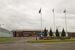Entrance to HMP Featherstone
