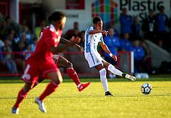 Tom Ince of Huddersfield Town passes the ball - Mandatory by-line: Robbie Stephenson/JMP - 12/07/2017 - FOOTBALL - Wham Stadium - Accrington, England - Accrington Stanley v Huddersfield Town - Pre-season friendly