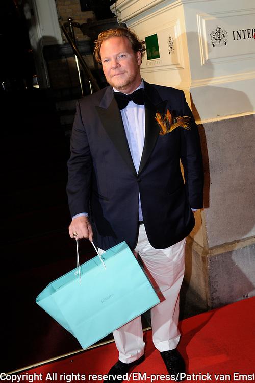 Uitreiking Beau Monde Awards in het Amstel Hotel, Amsterdam.<br /> <br /> Op de foto:  Bastiaan van Schaik