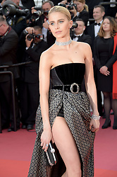 Caroline Daur attending the Rocketman premiere, held at the 72nd Cannes Film Festival on May 16, 2019.