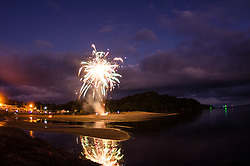 Ngunguru Estuary, Bonfire night 2015