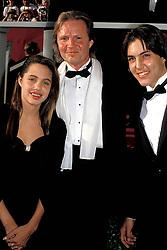 Aug 05, 1988 - Los Angeles, California, USA - ANGELINA JOLIE, father JON VOIGHT with son JAMES HAVEN. (Credit Image: © Roger Karnbad via ZUMA Wire)
