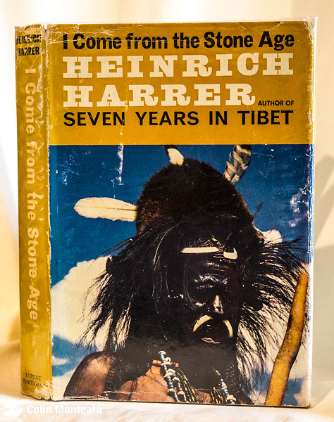 I COME FROM THE STONE AGE - Heinrich Harrer, Rupert-Hart Davis, London, 1st UK edn., 1964, VG hardback with good jacket, B&W plates, maps, Harrer's account of the 1st ascent of Carstensz Pyramid in West New Guinea, a climb led by Australian Russ Kippax and Kiwi Phil Temple. Later, Harrer needs evacuation after a fall in the jungle - $NZ65.