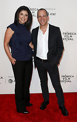 Sandra Howard and Andrew Essex attend 'The Exception' screening during the 2017 TriBeCa Film Festival at at BMCC Tribeca PAC on April 26, 2017 in New York City. (Photo by Debby Wong/imageSPACE) *** Please Use Credit from Credit Field ***