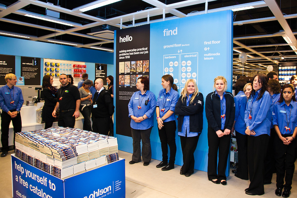 Clas Ohlson Store Opening