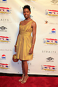 """Felicia Fletcher, Alize Diamond Necklace Awardee at The Ludacris Foundation 5th Annual Benefit Dinner & Casino Night sponsored by Alize, held at The Foundry at Puritan Mill in Atlanta, Ga on May 15, 2008.. Chris """"Ludacris"""" Bridges, William Engram and Chaka Zulu were the inspiration for the development of The Ludacris Foundation (TLF). The foundation is based on the principles Ludacris learned at an early age: self-esteem, spirituality, communication, education, leadership, goal setting, physical activity and community service. Officially established in December of 2001, The Ludacris Foundation was created to make a difference in the lives of youth. These men have illustrated their deep-rooted tradition of community service, which has broadened with their celebrity status. The Ludacris Foundation is committed to helping youth help themselves."""