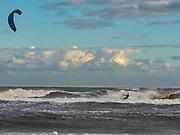 Kite Durfing at Folly Beach