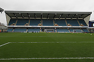 Millwall FC North stand prior to Shrewsbury Town during the Sky Bet League 1 match at The Den, London<br /> Picture by Richard Brooks/Focus Images Ltd 07947656233<br /> 10/12/2016