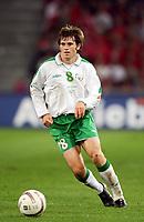 Fotball<br /> VM-kvalifisering<br /> Sveits v Irland<br /> Basel<br /> 8. september 2004<br /> Foto: Digitalsport<br /> NORWAY ONLY<br /> KEVIN KILBANE (IRE) *** Local Caption *** 40001314