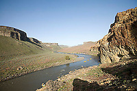 Rafting on the Owyhee River in south east Oregon.