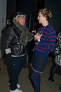 NICKY HASLAM; JESSICA BRINTON, Wallpaper* Design Awards. Wilkinson Gallery, 50-58 Vyner Street, London E2, 14 January 2010 *** Local Caption *** -DO NOT ARCHIVE-© Copyright Photograph by Dafydd Jones. 248 Clapham Rd. London SW9 0PZ. Tel 0207 820 0771. www.dafjones.com.<br /> NICKY HASLAM; JESSICA BRINTON, Wallpaper* Design Awards. Wilkinson Gallery, 50-58 Vyner Street, London E2, 14 January 2010